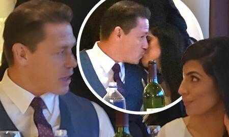 John Cena was spotted holding hands and kissing his new partner Shay Shariatzadeh on a date.