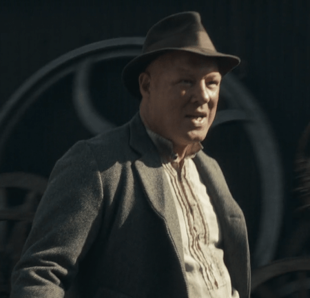 Ian Peck portrays the character of Curly in Peaky Blinders