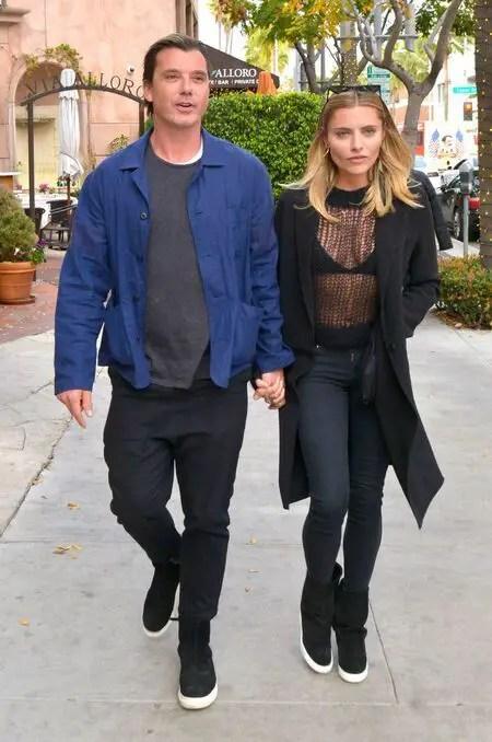 Gavin Rossdale with his former girlfriend Sophia Thomalla.