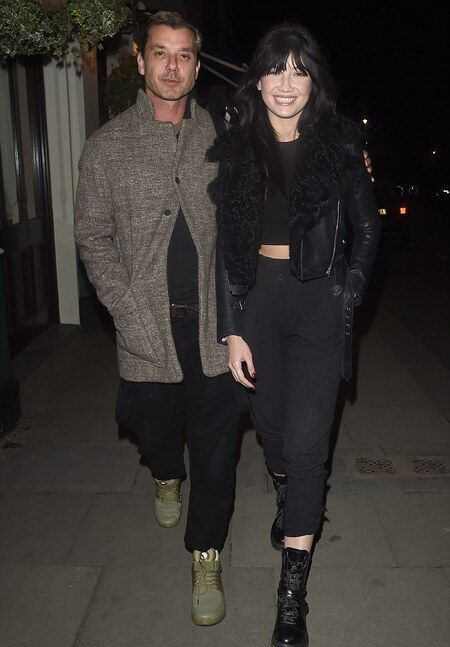 Gavin Rossdale with his daughter Daisy Lowe from his relationship with Pearl Lowe.