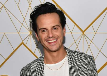 Priest actor Andrew Scott claims he is a secretive personality.