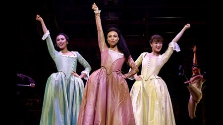Isa Briones was among the cast of Hamilton.