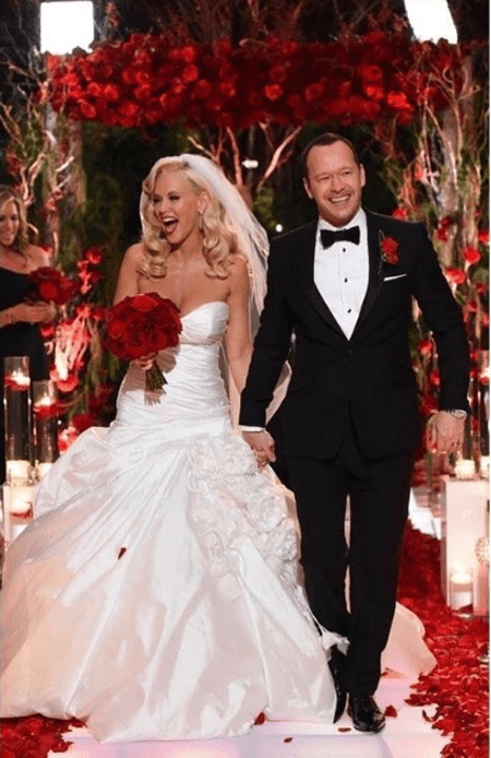 Jenny McCarthy and Donnie Wahlberg got married on 31 August 2014.