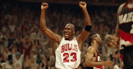 Michael Jordan won six NBA titles.