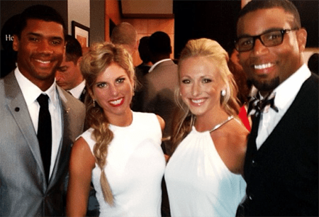 Golden Tate and Russell Wilson's wife were said to be involved with each other.