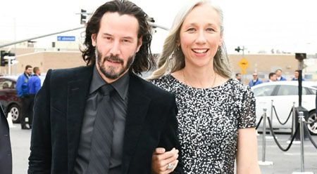Alexander Grant and Keanu Reeves started dating at the beginning of this year.