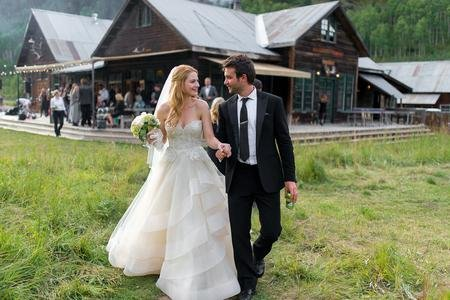 Alexandra Breckenridge and her husband Casey Hooper are married since 2015.