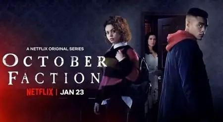 Aurora Burghart star as Viv Allen in the Netflix series October Faction.
