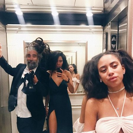 Herizen Guardiola started performing with her father since the age of five.