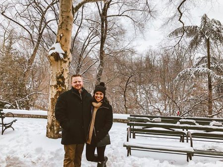 Karrie Martin and Ryan Lachney were best friends and now they took their relationship a step further.