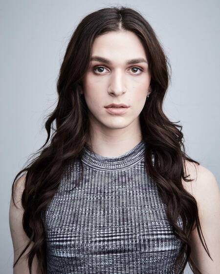 The transgender actress Eve Lindley is playing the role of Simone on AMC's 'Dispatches from Elsewhere.'