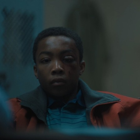 Asante Blackk as Kevin Richardson in 'When They See Us' (2019).