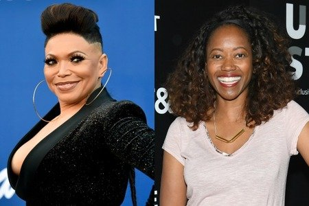 Tisha Campbell (left) replaced Erika Alexander (right) for the portrayal of Carol Larabee character on the Fox sitcom 'Last Man Standing.'