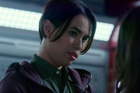 JayR Tinaco as Zayn Petrossian in the Netflix sci-fi drama 'Another Life.'