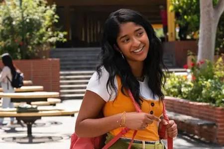 Maitreyi Ramakrishnan plays Devi Vishwakumar in the Netflix series Never Have I Ever.