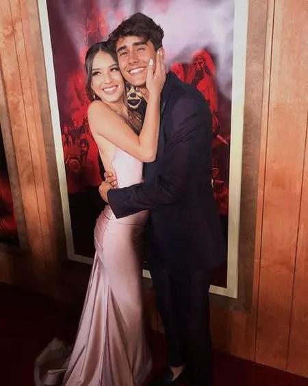 Michale Cimino and his girlfriend Mava Gomez were in a relationship.