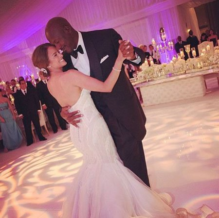 Victoria Jordan's parents Yvette Prieto and Michael Jordan got married in 2013.