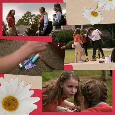 Devon Hales plays April Stevens in the Netflix series Teenage Bounty Hunters