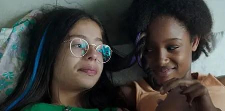 Medina El Aidi-Azouni plays Angelica in the Netflix movie Cuties / Mignonnes