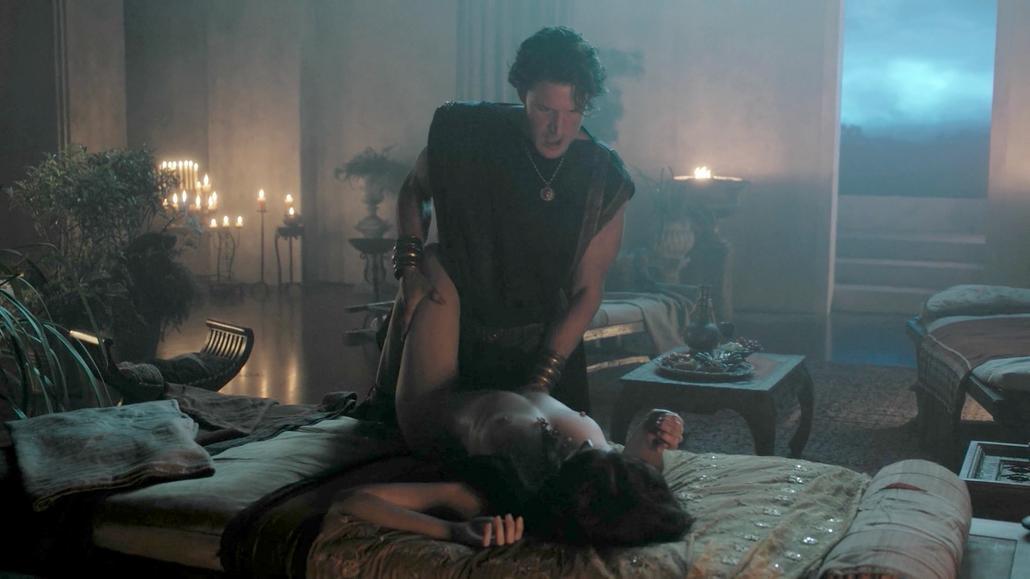 Ella becroft in roman empire reign of blood s01e02 e03 - 2 part 3
