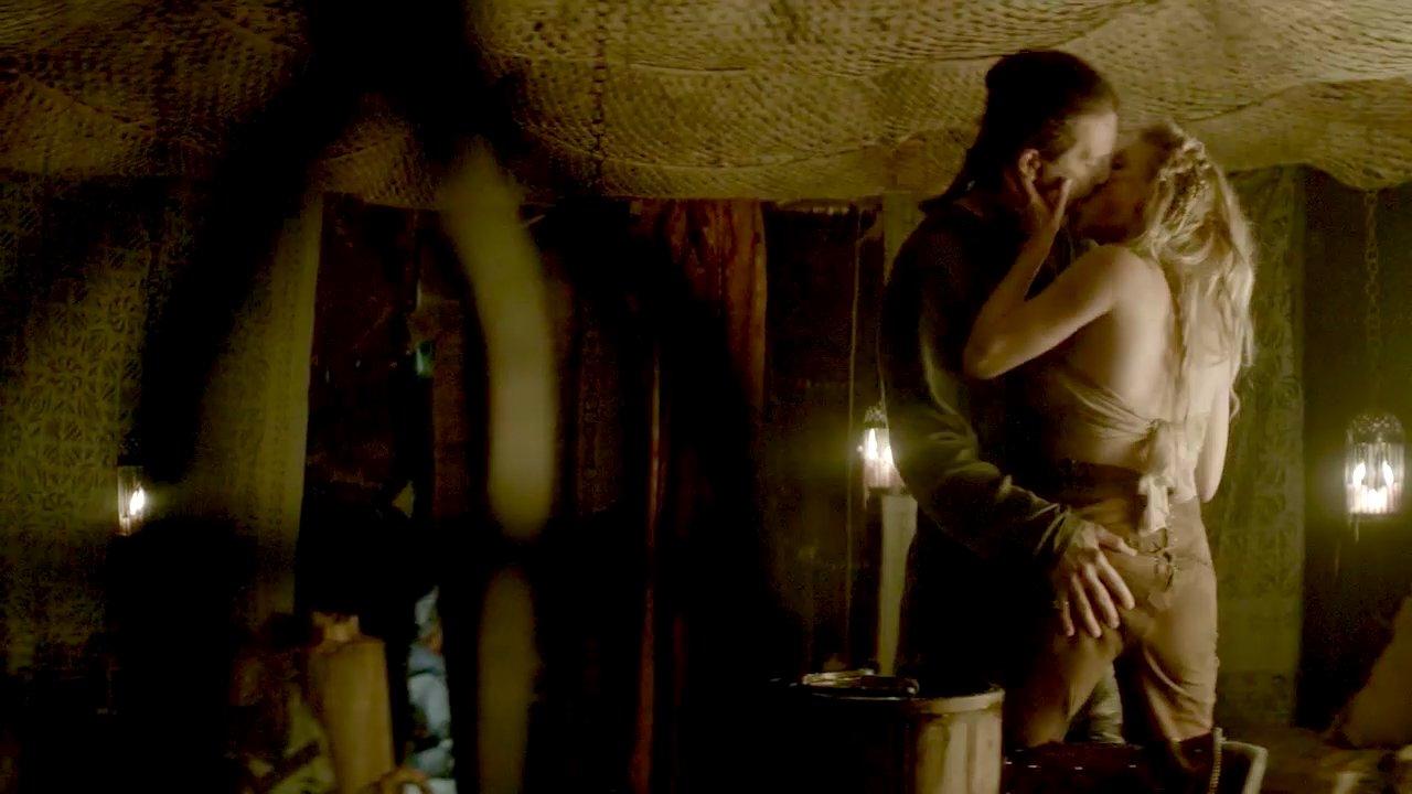 Ida nielsen topless scene from vikings on scandalplanetcom - 2 5