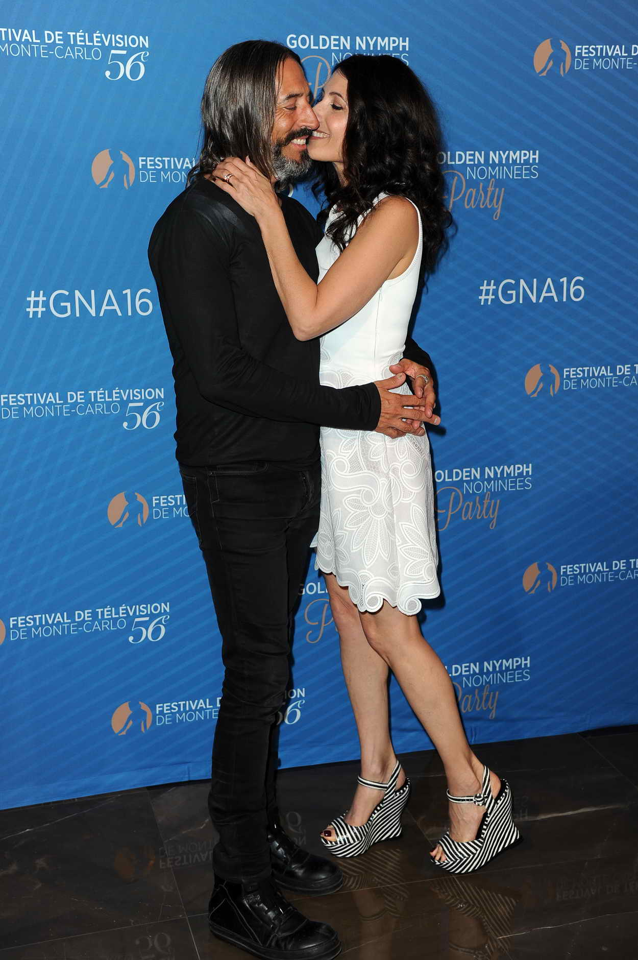 Lisa Edelstein at the Golden Nymph Nominee Party During