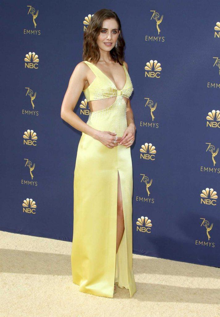 Alison Brie at the 70th Primetime Emmy Awards in LA 09172018  celebslacom