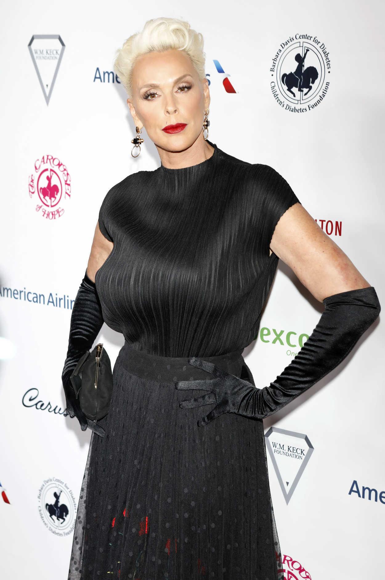 Brigitte Nielsen at 2018 Carousel of Hope Ball in Beverly