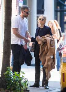 Jennifer Lawrence With Cooke Maroney In Ny 10