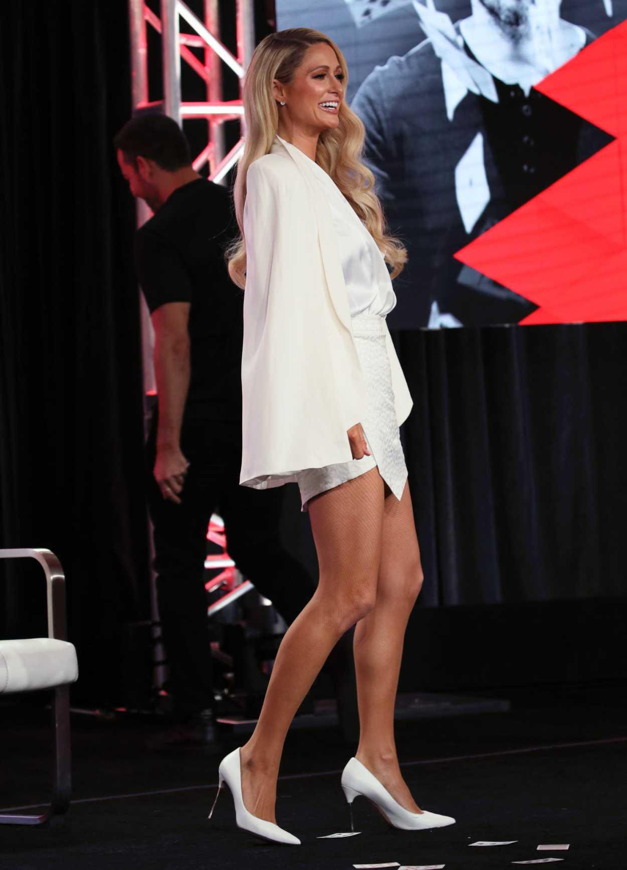 Paris Hilton Attends 2020 Youtube Winter Tca Presentation