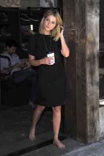 Ashley Benson Shoes Toms 2015