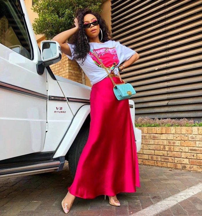 In Pics: Bonang Matheba's taste in fashion is on another level