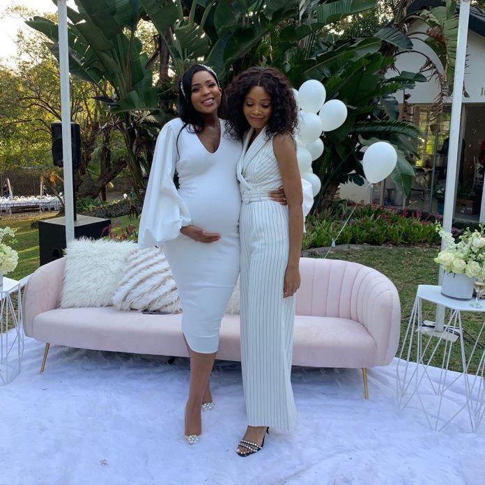 Linda Mtoba's all-white themed Baby shower was Magical #Babybeanbabyshower