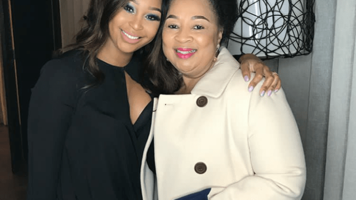 Mzansi celebs and their Stunning Moms – Pictures