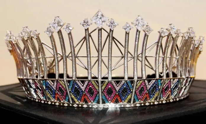 First look at the new Miss South Africa crown #MissSA2019