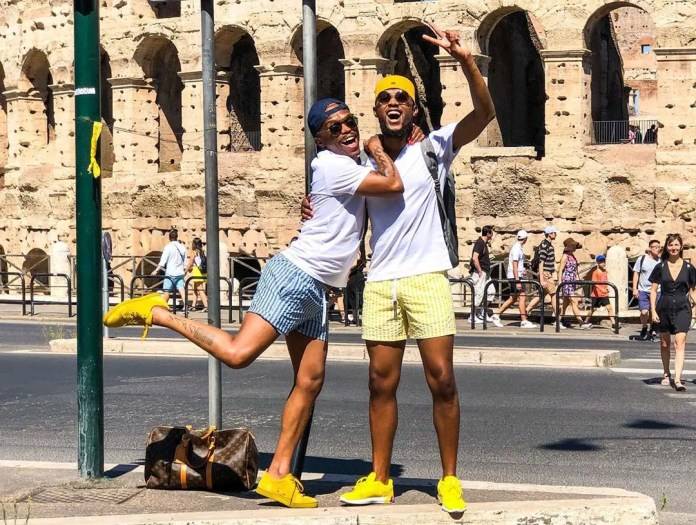 Somizi and Mohale Motaung's romantic baecation in Italy – Pictures