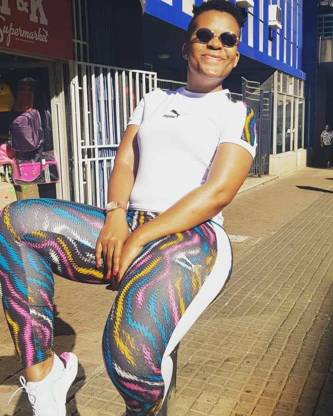 #TBT pictures of Zodwa Wabantu that went viral on the internet