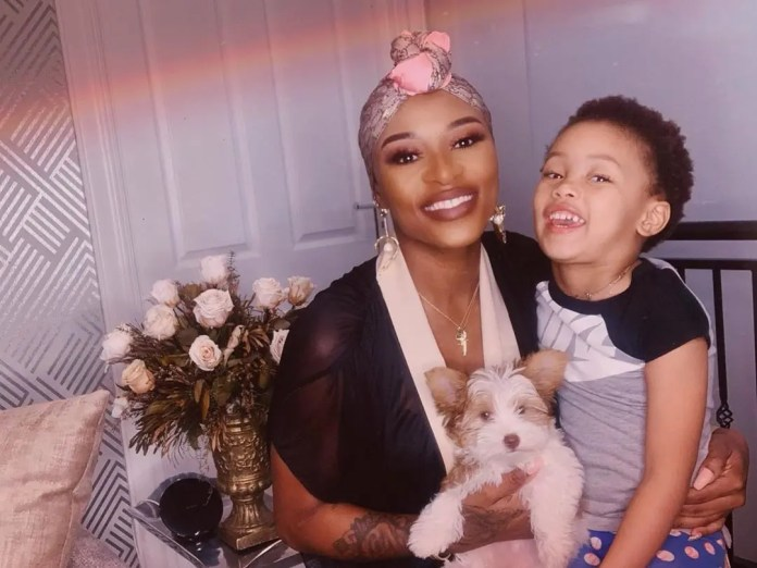 DJ Zinhle talks about her daughter Kairo