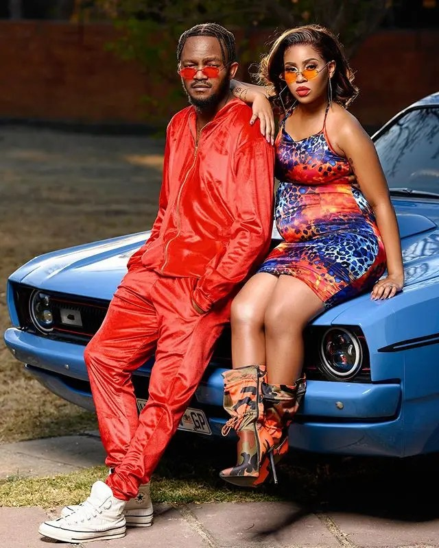 Kwesta and wife