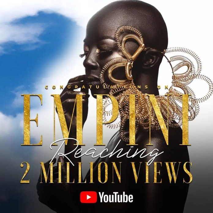 """Kelly Khumalo over the moon as her single  """"Empini"""" tops Afro/pop charts for seven weeks"""