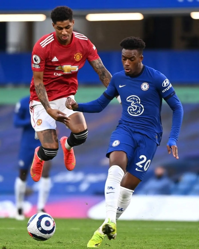 Chelsea and Manchester United playout to a goalless draw