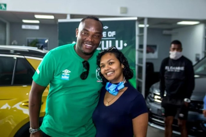 Benni McCarthy surprised with a new set wheels