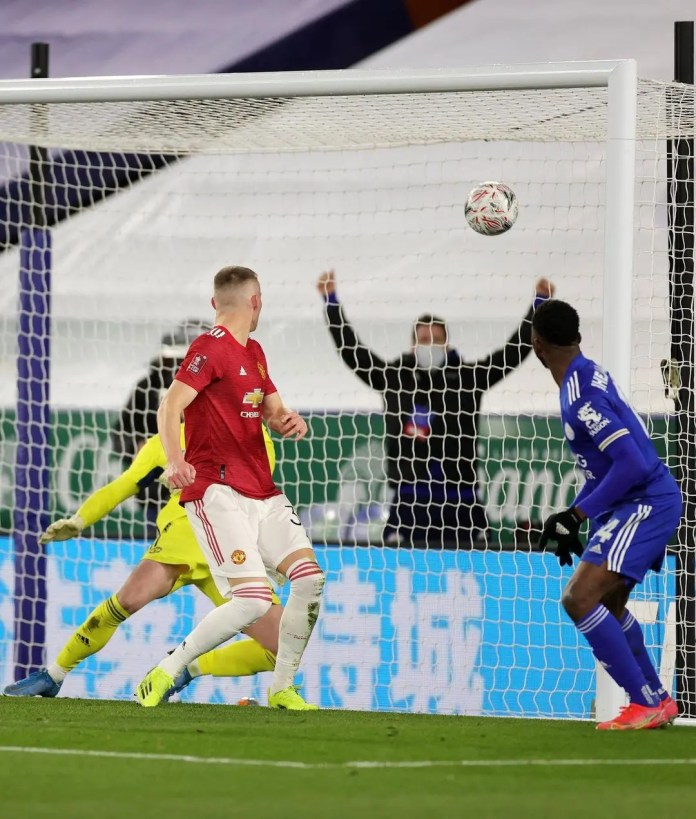 Leicester City knock Manchester United out of the FA Cup