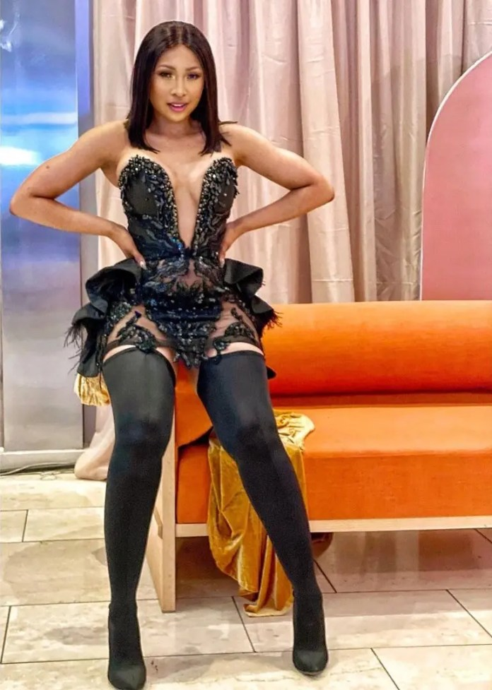 Actress Enhle Mbali Reacts To Claims Of Being Broke