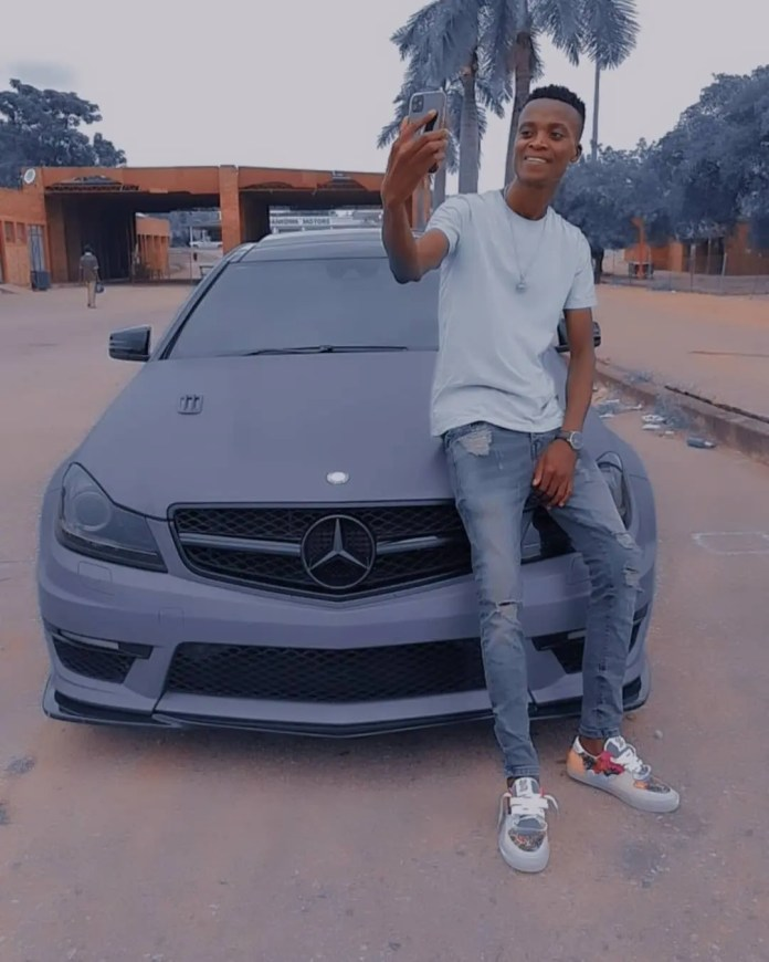 PIC: King Monada shows off his luxurious mansion