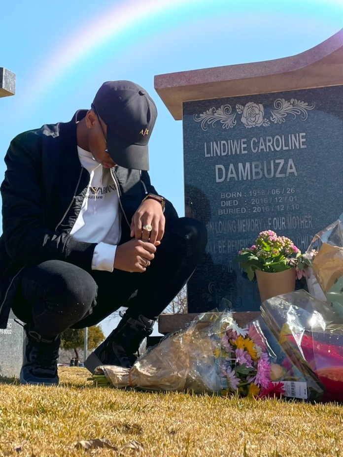 Lasizwe remembers his late mother on her birthday