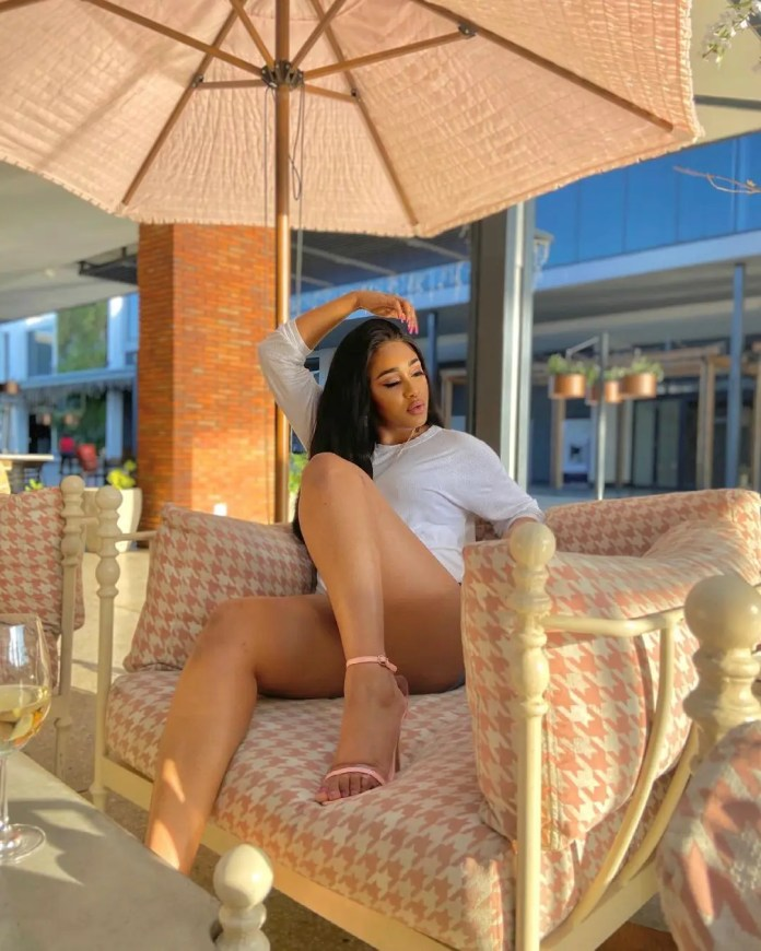 Photos: Meet Pearl Thusi's sizzling h0t young sister PrunellaThusi