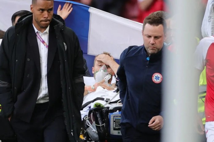 Christian Eriksen alive after collapsing in the Denmark, Finland EURO2020 game