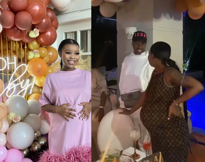 Inside Sithelo Shozi's surprise baby shower for her second child – MaMkhize's son Andile Mpisane suspected to be the father