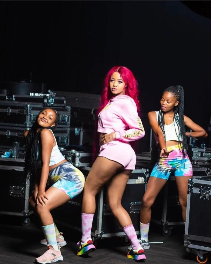 New mom Babes Wodumo already back in action